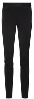 HUGO BOSS Skinny-fit leggings with zipped pockets