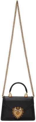 Dolce & Gabbana Black Small Devotion Bag