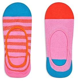 Happy Socks Claudia No-Show Socks, Pack of 2