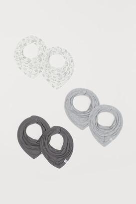 H&M 6-pack Triangular Scarves - Gray