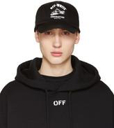 Off-White Black Construction Cap