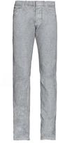 Balenciaga Spray-print Slim-leg Jeans