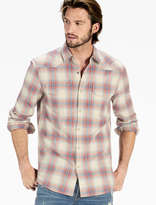 Lucky Brand Plaid Santa Fe Western Shirt