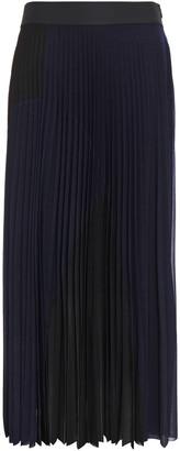 Victoria Victoria Beckham Pleated Jersey Maxi Skirt