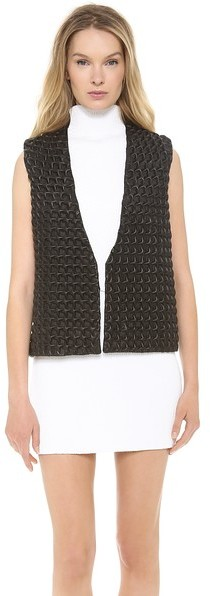 J.W.Anderson Star Leather Gilet