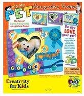Creativity For Kids It's My Pet Keepsake Frame