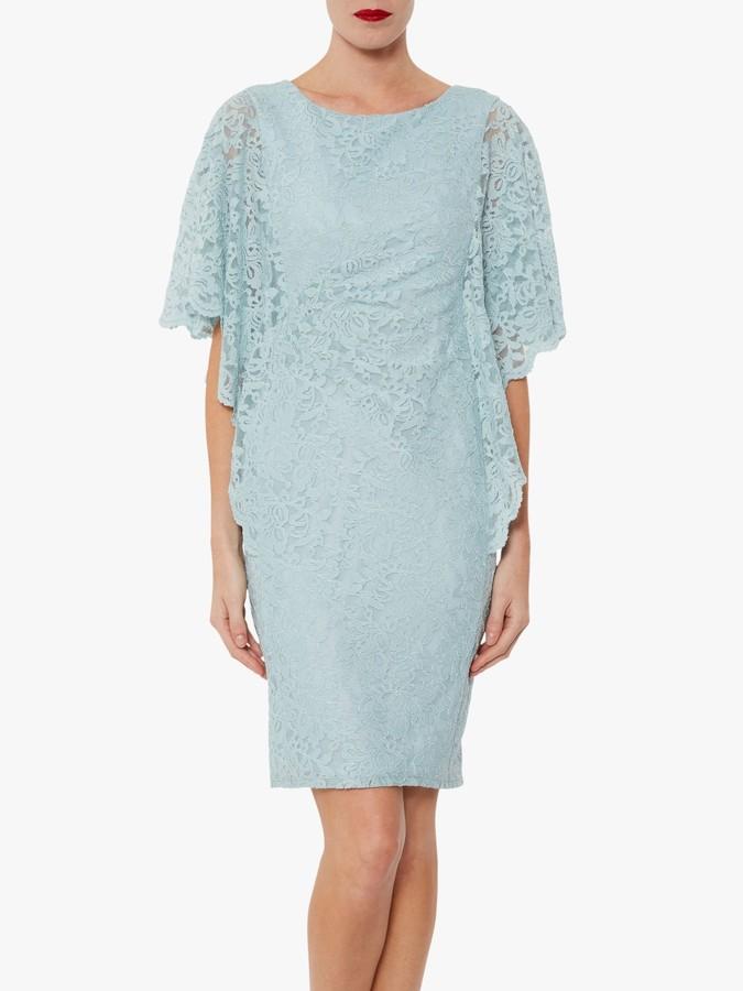 Gina Bacconi Satina Floral Lace Dress