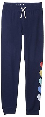PJ Salvage Kids Love For The Weekend Pants (Toddler/Little Kids/Big Kids) (Navy) Girl's Pajama
