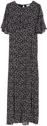 Topshop Austin Spot Print Midi Dress