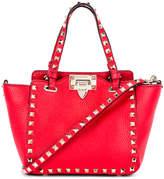 Valentino Rockstud Mini Tote in Red | FWRD