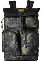 Tumi Alpha Bravo London Roll-Top Backpack Backpack Bags