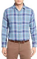 Peter Millar Men's Sierra Plaid Sport Shirt