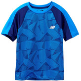 New Balance Short Sleeve Printed Performance Tee (Little Boys)