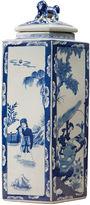 One Kings Lane 21 Chinoiserie Lidded Jar, Blue/White