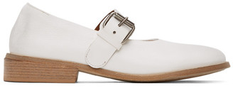 Marsèll White Buckle Marcellina Shoes