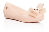 Mini Melissa Girls' Mel by Melissa Ultragirl Bow Ballet Flats - Little Kid