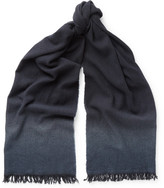 Bottega Veneta Dégradé Cashmere and Wool-Blend Scarf