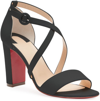 Christian Louboutin Loubi Bee 85 Red Sole Sandals