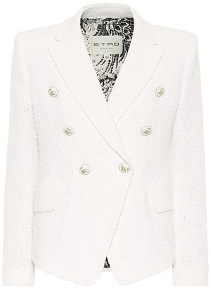 Etro Cotton-blend tweed blazer