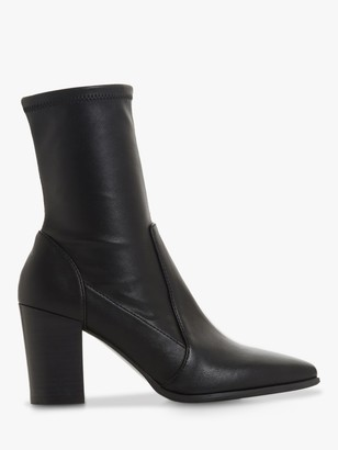 Dune Ostene Ankle Boots, Black