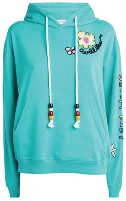 Mira Mikati Floral Embroidered Hoodie