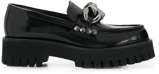 Casadei Chunky Sole Shoes