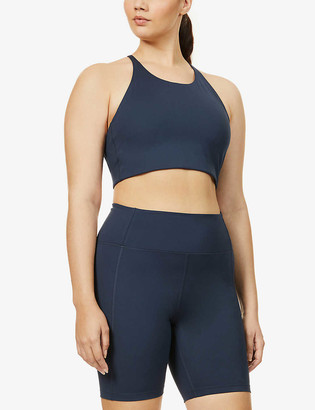 Girlfriend Collective Topanga sports stretch-jersey bra