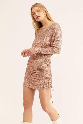 Free People Giselle Sequin Mini Dress