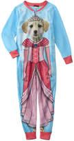 Petit Lem Girls' Knit Pajama Onesie