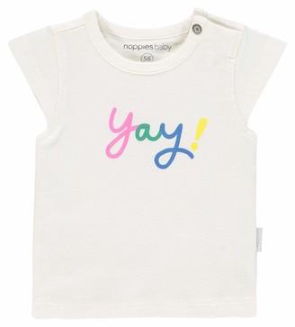Noppies Baby Girls' G Tee Slim ss Rolla T-Shirt