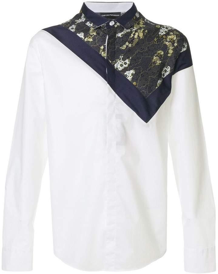 Emporio Armani top printed shirt