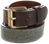 Marc Jacobs Embellished Leather Belt