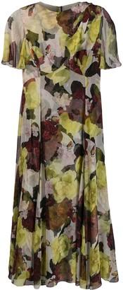 Erdem floral shift dress