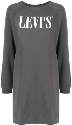 Levi's Serif logo sweater dress