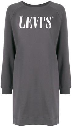 Levi's Serif logo sweater dress