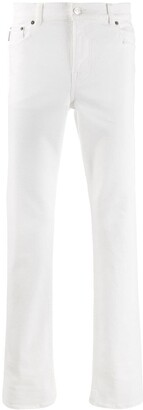 Balenciaga Distressed Straight Fit Jeans