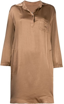 Raquel Allegra Relaxed Shirt Dress