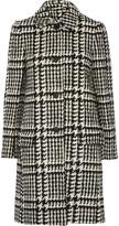Jill Stuart Brandt wool-blend bouclé-tweed coat