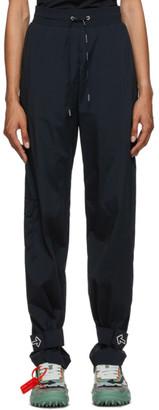 Off-White Black Nylon Track Pants
