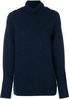 Victoria Beckham ribbed turtleneck sweater - women - Wool - I