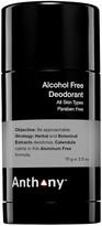 ANTHONY Alcohol Free Deodorant 70g