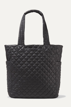 MZ Wallace Max Quilted Shell Tote - Black
