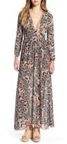 For Love & Lemons Women's 'Gracie' Floral Print Maxi Dress