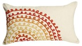 Liora Manné Red Rose Ombre Threads Throw Indoor/Outdoor Pillow Warm