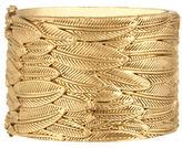 House Of Harlow 1960 Sacred Leaf Hinge Bracelet