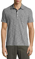 Billy Reid Ombre Striped Polo Shirt