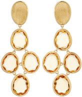 Marco Bicego Lunaria 18k Citrine Drop Earrings