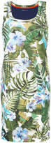 Marc Cain floral print fitted dress