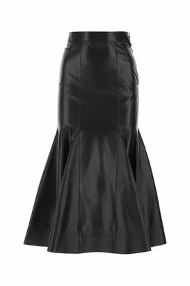 Loewe Godet Flare Midi Skirt