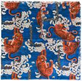 Gucci Bengal print scarf - women - Silk/Modal - One Size